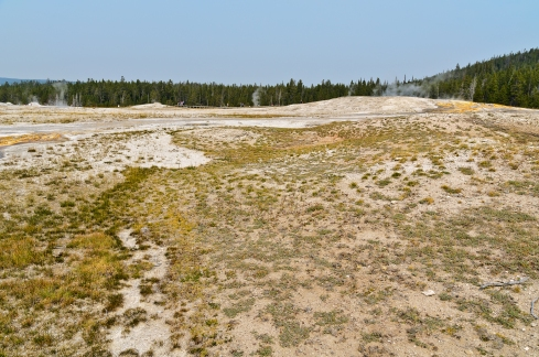 Yellowstone National Park: Upper Geyser Basin - August, 2017