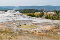 Lion Geyser (left)