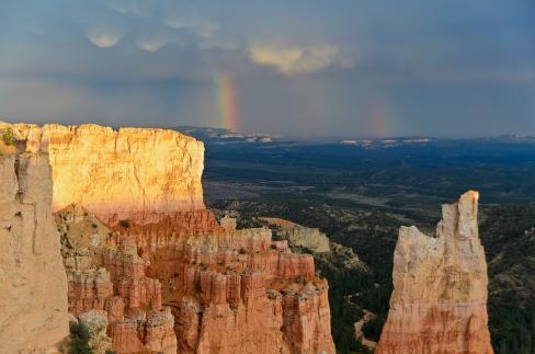 Multiple Rainbows at Paria View