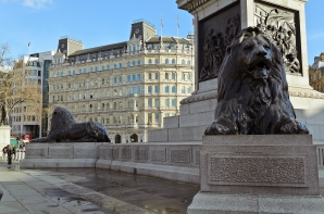 London, England: Trafalgar Square