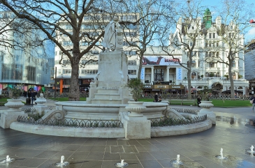 London, England: Leicester Square