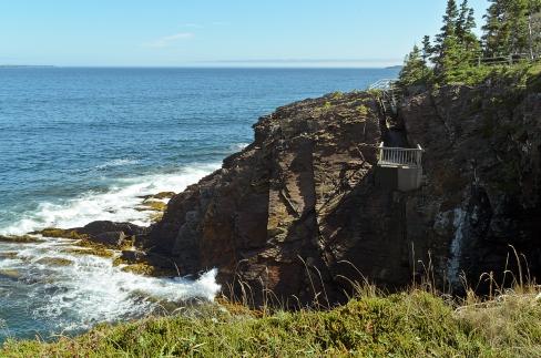 The Ovens National Park, Nova Scotia, Canada